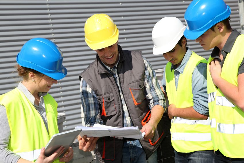 12556656 - group of students in professional training