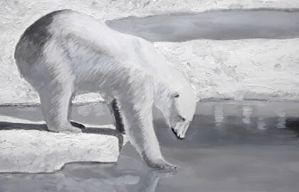 Polar-Bear-(Monochrome)